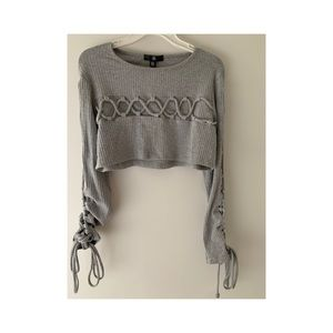 NWT misguided crop top